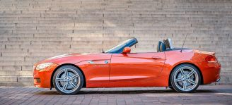 BMW Z4 3.5is convertible-cabriolet, 2015: Cabbekavalkaden vid Kärnan i Helsingborg [2015]<br>Lat: 56.047356N, Long: 12.696125E Copyright © Kristian Adolfsson / www.adolfsson.photo